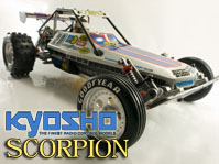 Lire l'article Kyosho Scorpion [1983] – 2wd buggy RC vintage restored